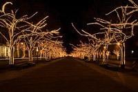 Подключение освещения зданий в Новоалтайске