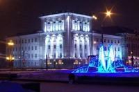 освещение фасадов в Новоалтайске