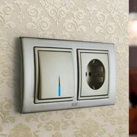 Установка выключателей в Новоалтайске. Монтаж, ремонт, замена выключателей, розеток Новоалтайск.